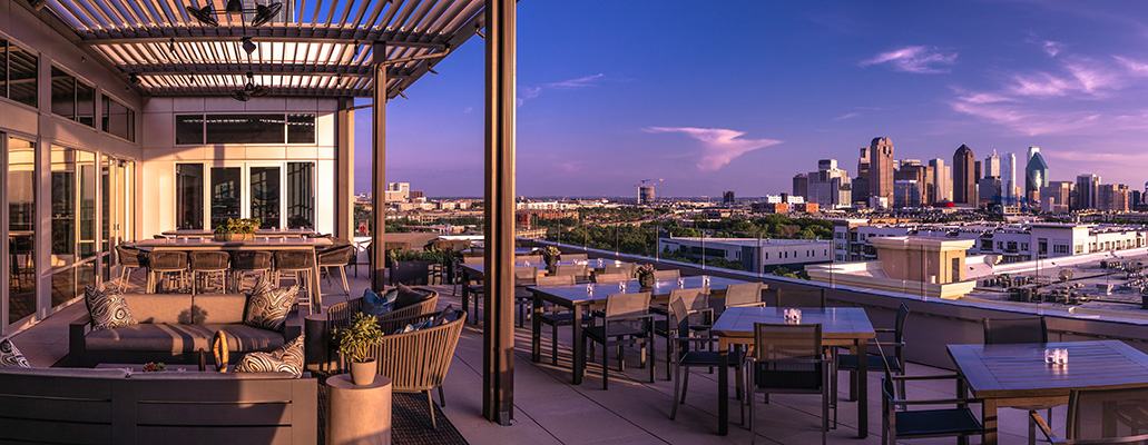 Dallas Rooftop Bar