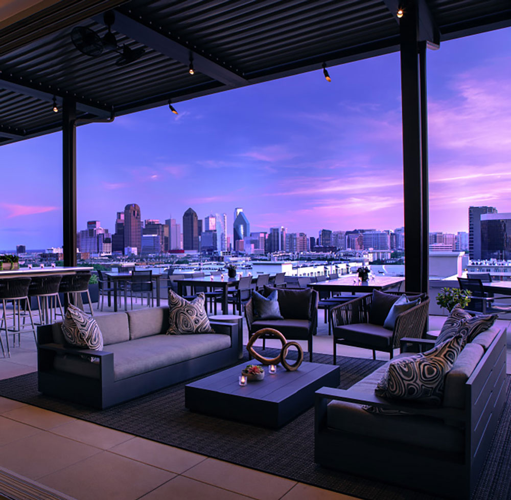 Rooftop Restaurants In Dallas | Uptown Rooftop Bars ...