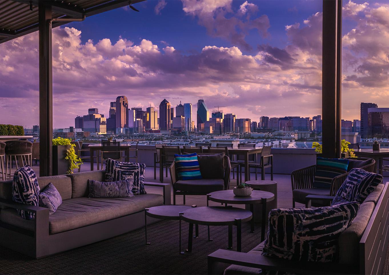 Rooftop Restaurants In Dallas | Uptown Rooftop Bars ...